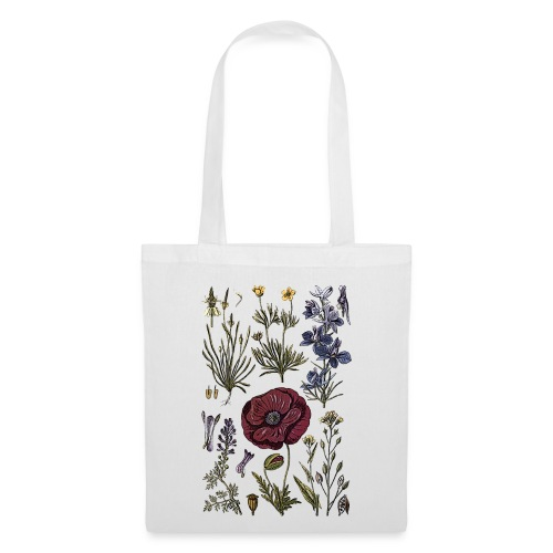 Flowers Tote Bag - Tote Bag