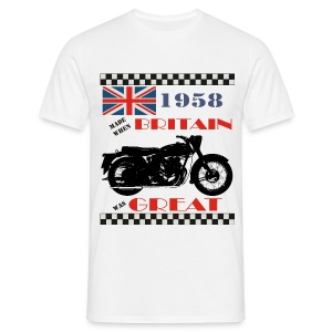 Britain was Great 1958 - Men's T-Shirt