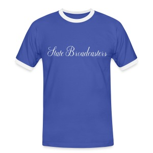 State Broadcasters - Men's Ringer Shirt