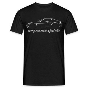 RX-8 black/white - Männer T-Shirt