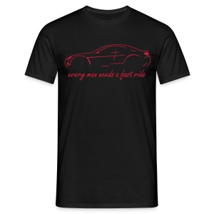 RX-8 black/red - Männer T-Shirt
