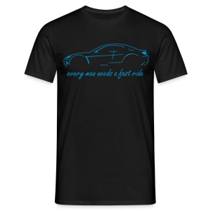 RX-8 black/blue - Männer T-Shirt