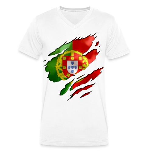 portugal - T-shirt bio col V Stanley & Stella Homme