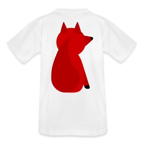 The Fox's Back - Teenager T-Shirt