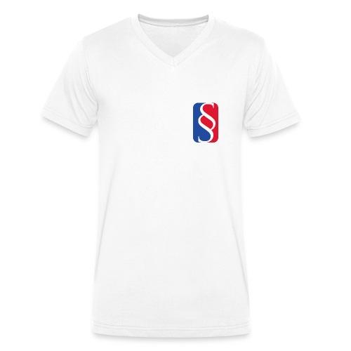 Law League V-Shirt - Männer Bio-T-Shirt mit V-Ausschnitt von Stanley & Stella
