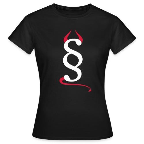 Devils Paragraph T-Shirt Frau - Frauen T-Shirt