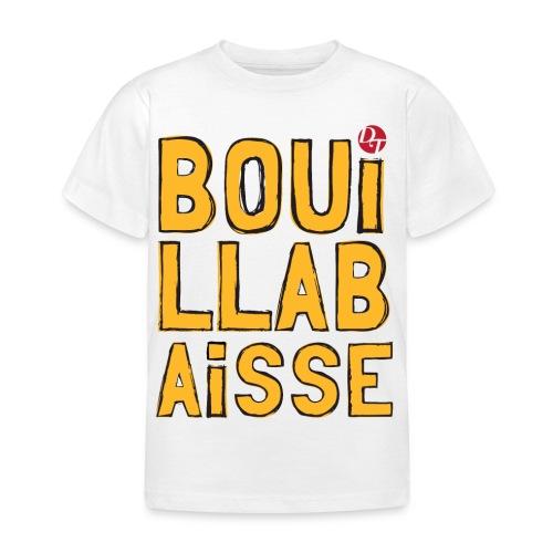Bouillabaisse - blanc (enfant) - T-shirt Enfant