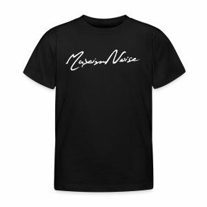 MaximNoise-Kindershirt (weisse Schrift) - Kinder T-Shirt