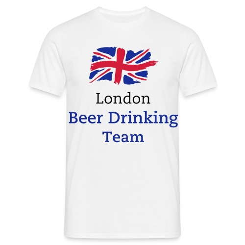 Olympic - London Beer Drinking Team - Men's T-Shirt
