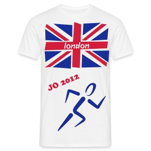 t-shirt JO 2012 london - T-shirt Homme