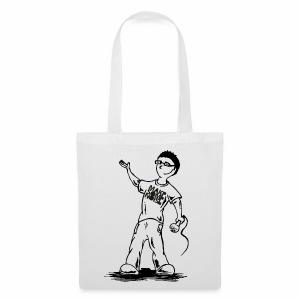 Comic-Stofftasche - Stoffbeutel