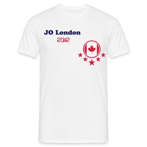 t-shirt JO 2012 London ( lcanada2 ) - T-shirt Homme