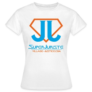 Attention, super Juriste ! - T-shirt Femme
