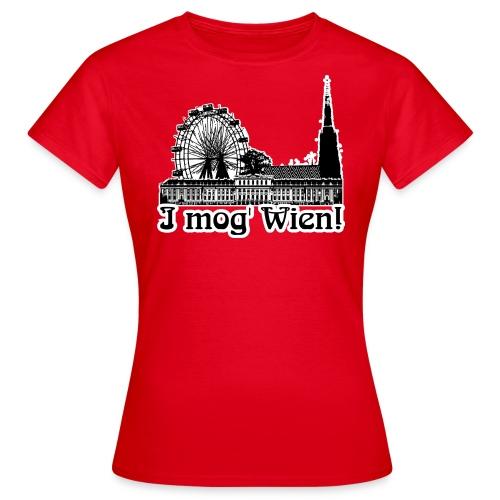 I mog Wien! | GIRLIES - Frauen T-Shirt