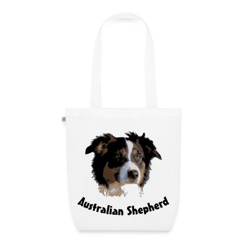 tier hunde t-shirt australian shepherd aussie hund hüte hüten border collie agility - Bio-Stoffbeutel