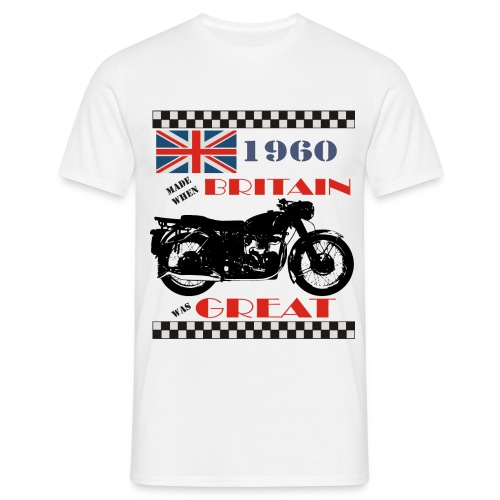 Britain was Great 1960 - Men's T-Shirt