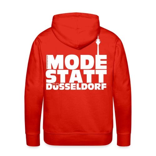 Mode statt Düsseldorf Kapuzenjacke - Männer Premium Hoodie