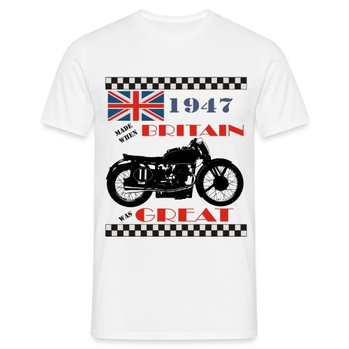 Britain was Great 1947 - Men's T-Shirt