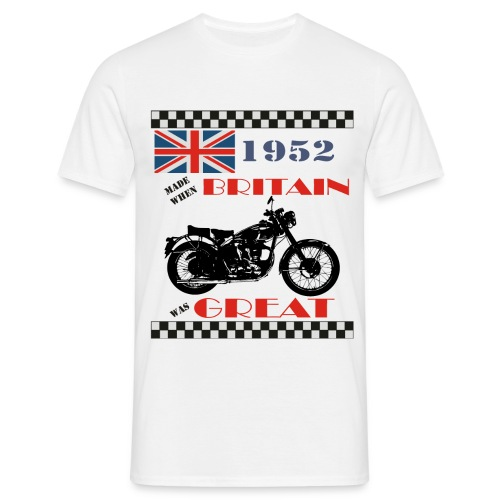 Britain was Great 1952 - Men's T-Shirt