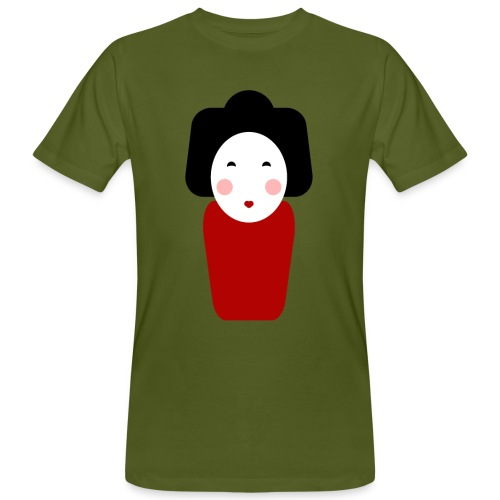 Japan Doll T-Shirt - Männer Bio-T-Shirt