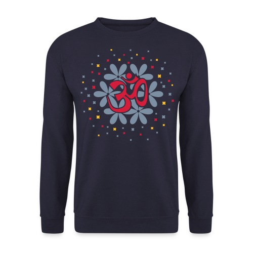 om floral sweatshirt - Men's Sweatshirt