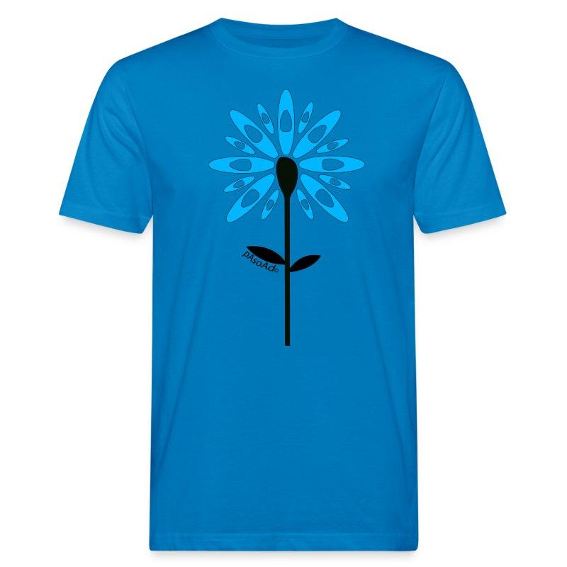 T-shirt kayak fleur pagaie Homme - T-shirt bio Homme