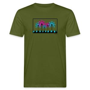 T-shirt kayak fleur pagaie 2 Homme - T-shirt bio Homme