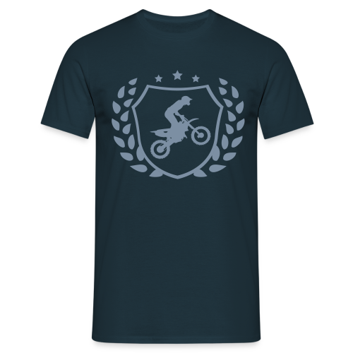 MX shield (argent) - T-shirt Homme