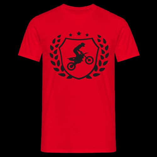 MX shield (noir brillant) - T-shirt Homme