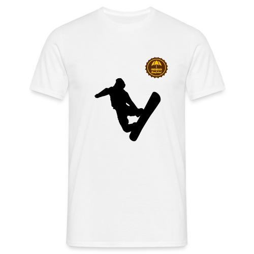 Snowboarder - Männer T-Shirt