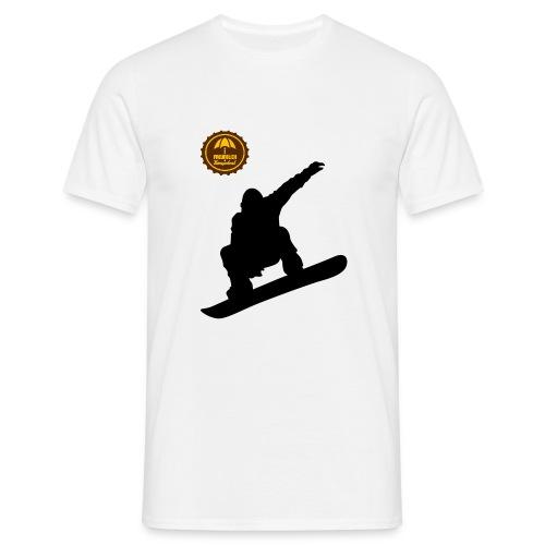 Snowboard2 - Männer T-Shirt