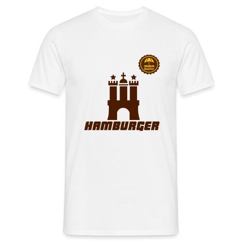 Hamburger - Männer T-Shirt