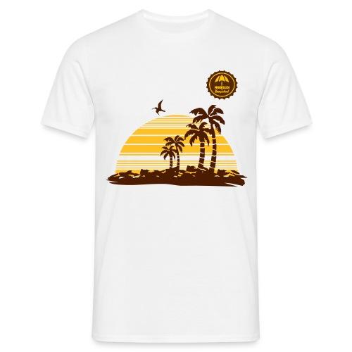 Sunset2 - Männer T-Shirt