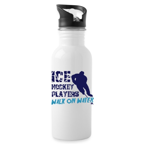 Ice Hockey Players Walk on Water
