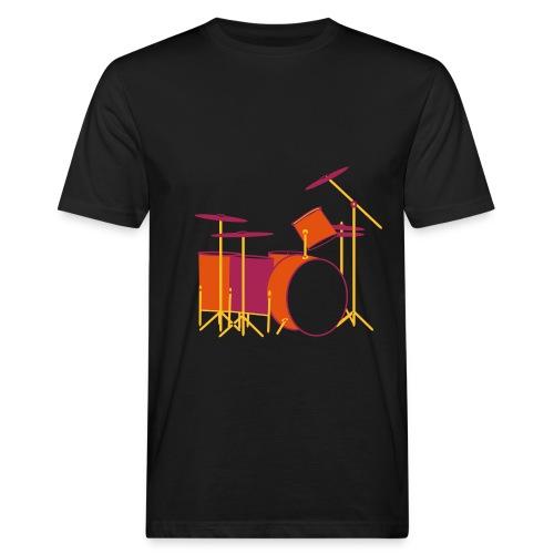 Colour Drums IV - Männer Bio-T-Shirt