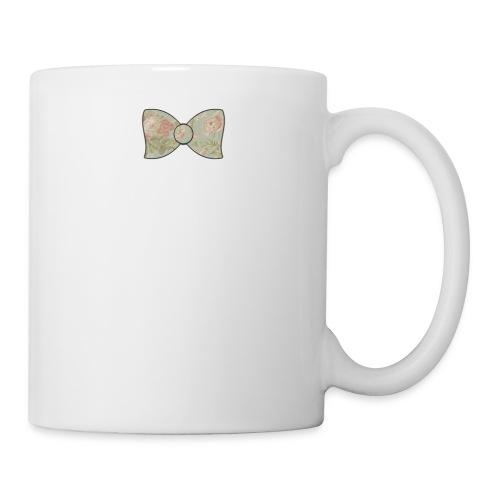 Vintage Floral Bow Tie Mug - Mug