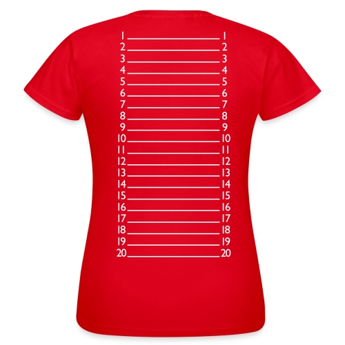Basic Length Check Shirt - Women's T-Shirt