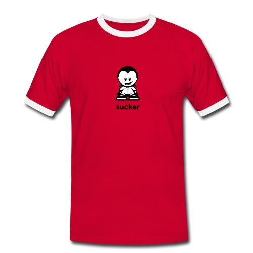sucker  - Männer Kontrast-T-Shirt