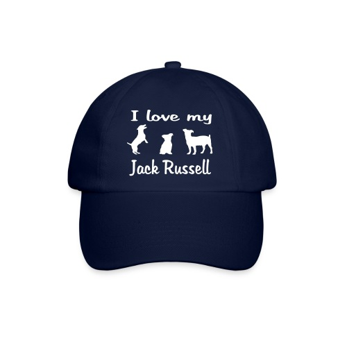 I Love my Jack Russell - Baseballkappe