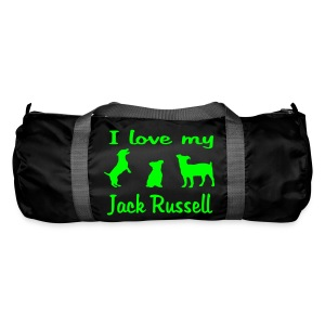 I Love my Jack Russell - Sporttasche