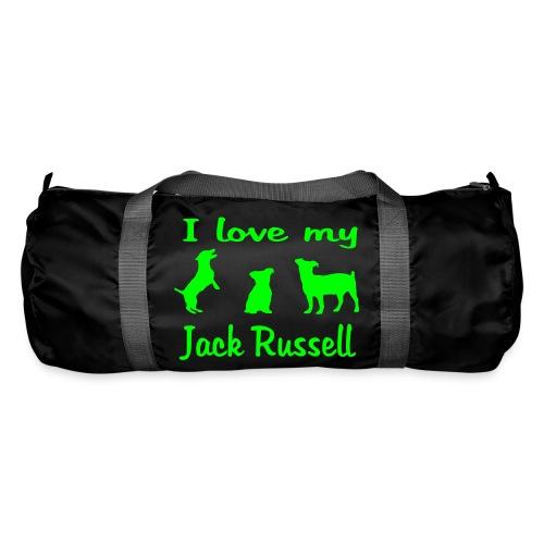 I Love my Jack Russell - Sporttasche
