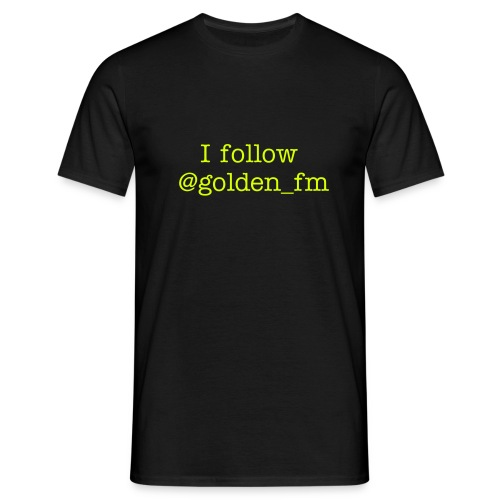 Golden FM t-shirt - Men's T-Shirt