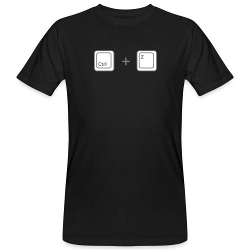 T-shirt Ctrl + Z Homme - T-shirt bio Homme