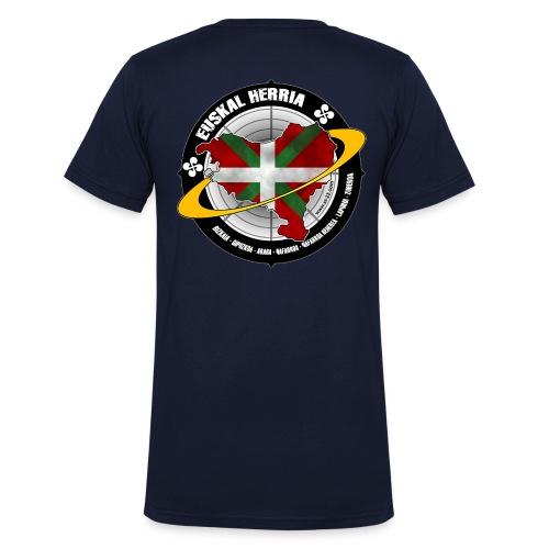 euskadi 1 - T-shirt bio col V Stanley & Stella Homme