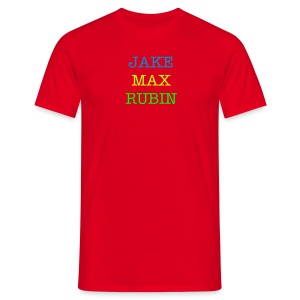 JakeMaxRubin Trial Top - Men's T-Shirt