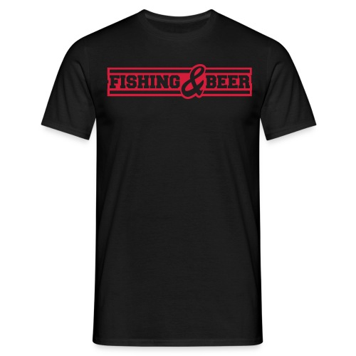Fishing & Beer - Männer T-Shirt