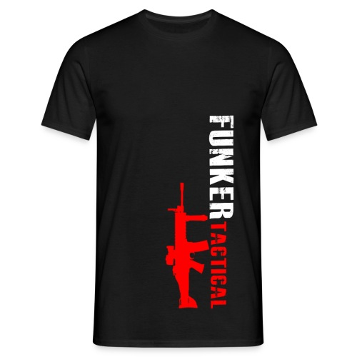 Men's T-Shirt - youtube,tshirt,shooting,hoodie,guns,gear,funker530,funker tactical,clothing,afghanistan