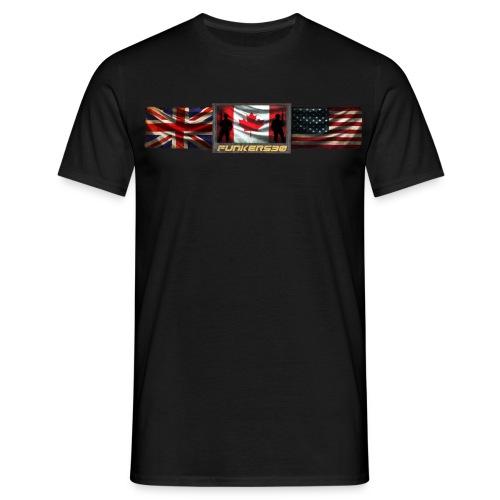 Men's T-Shirt - youtube,tshirt,shooting,hoodie,guns,gear,funker530,funker tactical,clothing,afghanistan