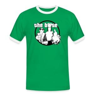 the böse-Logo - Männer Kontrast-T-Shirt