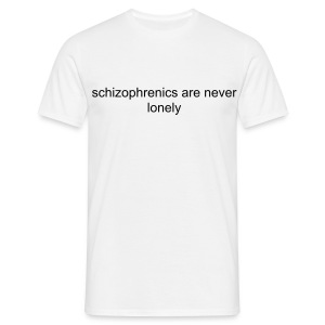 [FUN] JUST GO SCHIZO (BLACK) - Men's T-Shirt